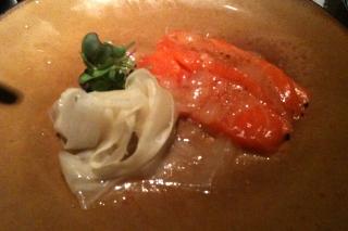 BC Wild Chinook Salmon Sashimi