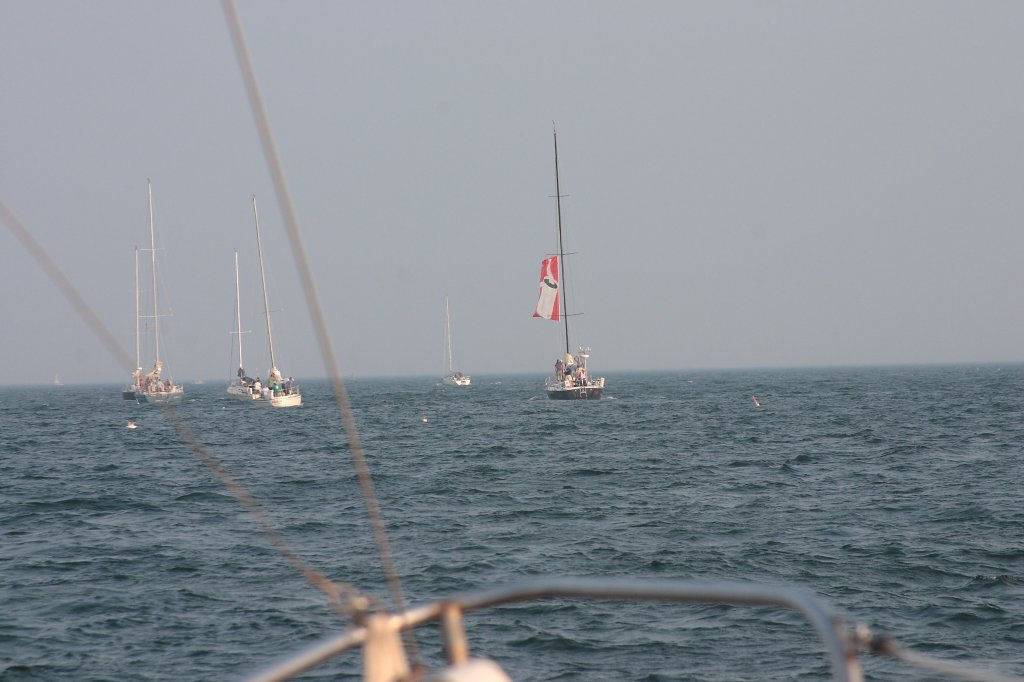 Other Boats at the Race Start