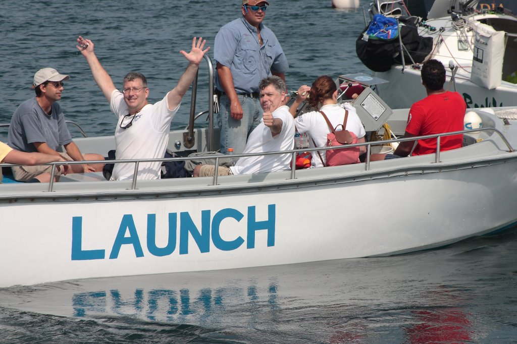The Launch, the Launch!