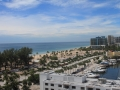 View at the Bahia Mar