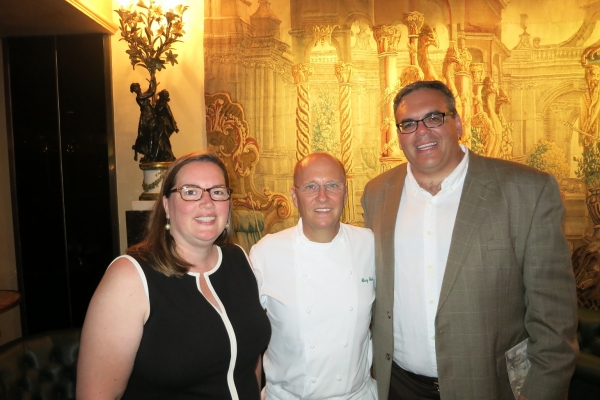 With Chef Heinz Beck