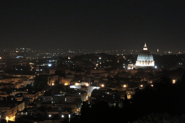 Rome and the Vatacan at Night