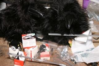 Do-it-yourself talking raven kit